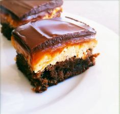 Snickers Brownies.