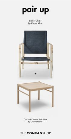 Buy the Exclusive Safari Chair Denim by Kaare Klint and more online today at The Conran Shop, the home of classic and contemporary design Outdoor Chairs, Outdoor Furniture, Outdoor Decor, Danish Furniture, Signature Design, Contemporary Design, Safari, Accent Chairs, Upholstery