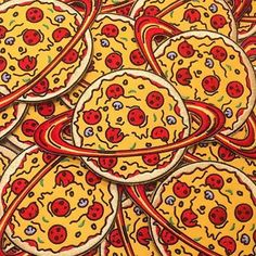 °•.* Pinterest || hopepapworth ∆ Planet pizza a new patch by @foolsandtrolls available now in their online store…