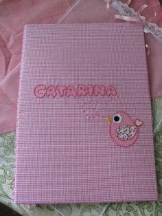 Presentes Que Encantam: Uma pasta para Catarina se encantar!!!