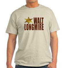 Longmire TV T-Shirt #Wyoming Sheriff Badge #Walt #Longmire #western TV show Longmire #Sheriff Badge #Sheriff #Cowboy #Ranch