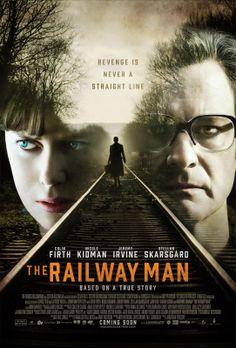 THE RAILWAY MAN (2013) ~ Colin Firth, Nicole Kidman, Jeremy Irvine.