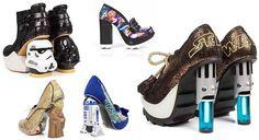 yıldız temalı savaşlar ayakkabı-topuklu ayakkabı