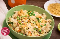 Upma (Indian Breakfast Recipes) is a healthy South Indian and Sri Lankan Tamil breakfast recipe, typically made with roasted semolina (also called rava, sooji/ . Quick And Easy Breakfast, Savory Breakfast, Breakfast Dishes, Quick Easy Meals, Breakfast Recipes, Indian Veg Recipes, Ethnic Recipes, Brunch Recipes, Dinner Recipes
