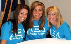 Alpha Xi Delta Autism Speaks t-shirts available in Xi Boutique!