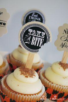 Halloween Printable Cupcake Toppers