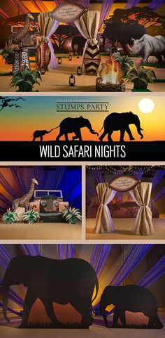 Bring the wild safari to your event with our Wild Safari Dream theme kit. Complement your event with personalized safari favors, invitations, and more! Shop all of our safari party supplies to make your event complete!