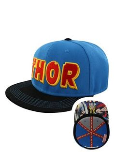6356dedad34f54 Marvel Comics The Mighty Thor Snapback Cap