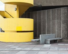 Urban structures by chris round, via Behance Brutalist, Design Projects, Interior And Exterior, My House, Architecture Design, Behance, Modern, Photography, Yellow