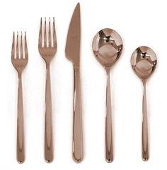 Linea 5 Piece Cutlery Set