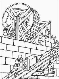 Escuela infantil castillo de Blanca: FICHAS PREESCOLAR: EL CASTILLO Tangram, Medieval, Château Fort, Bible Crafts, Kindergarten, Knights, Castles, Counting, Temple