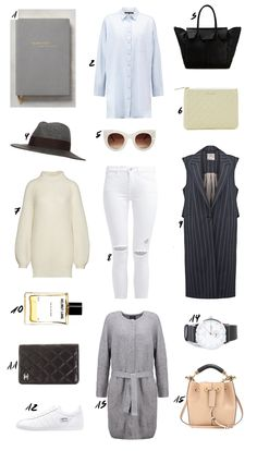 Chic and Neutral Travel Outfit Idea. More is up on www.thedashingrider.com