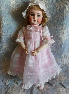 Preciosa muñeca SFBJ molde 60 de Jumeau, 54 cm (Juguetes - Muñeca Extranjera Antigua - Porcelana Francesa)