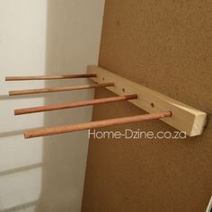 diy trouser pants jeans rack hanger