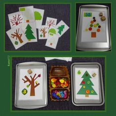 """FREE printable trees for counting and number recognition work from Rachel ("""",)"""