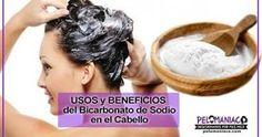 Bicarbonato de sodio para el cabello