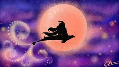 Jasmine & Aladdin [as Prince Ali feat. the Magic Carpet] (Silhouettes by Unknown) #Aladdin