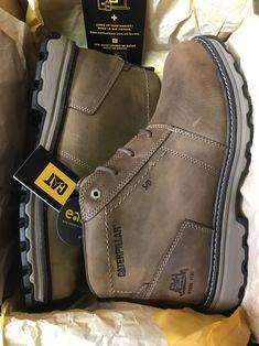 Oruga inc. zapato de bota con punta de acero de la empresa