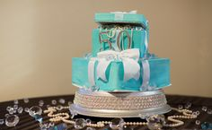 tiffany themed party feature