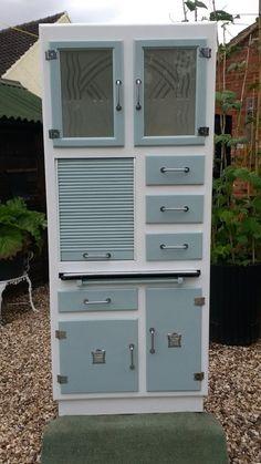 Restored Vintage 1950s Kitchen Cabinet/ Larder/ Pantry/ Kitchenette in Home, Furniture & DIY, Furniture, Cabinets & Cupboards   eBay