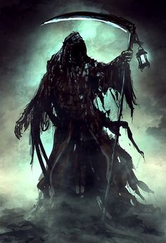 """Grim Reaper-during the Plague they said you could see """"it"""" coming waving his…"""