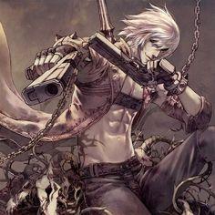 A personal favorite image ~ Dante (Devil May Cry franchise) fan-art.