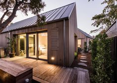 Case Ornsby completes cedar-clad house in Christchurch divided up by courtyards