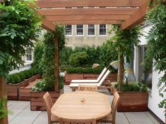 Before & After - Don Statham's Rooftop Terrace Garden in LowerManhattan - Home Infatuation Blog - Dream Design Live Luxury Outdoor Living