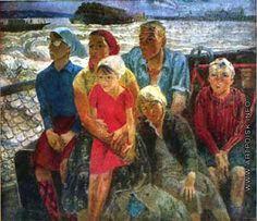 Максимов Константин Мефодьевич [1913—1993] Семья шкипера. 1971