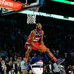 @johnwall, 2014. The dunk that won it all.  #TBT #teamadidas