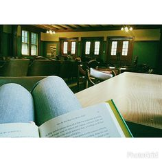 Maria introduced us to the Athabasca quiet room: a place great for studying, and apparently it's a secret, so shhh! (Photo by @_maria_j_)