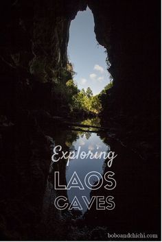 Check out some of Southern Laos natural wonders. Laos has many caves to explore and we checked out the caves of Thakhek. Everyone should have Southern Laos added to their travel bucket list! boboandchichi.com...