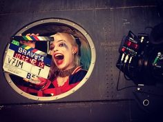 "margotdaily: ""Margot Robbie as Harley Quinn on the last day of shooting Suicide Squad "" Atriz Margot Robbie, Actress Margot Robbie, Harley Quinn Drawing, Joker And Harley Quinn, Black Adam Shazam, Margo Robbie, Margot Robbie Harley Quinn, Harely Quinn, Rose Video"