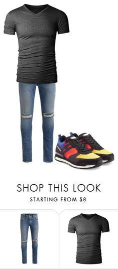 """""""Project 6"""" by alli195cat ❤ liked on Polyvore featuring Jack & Jones, Hogan Rebel, men's fashion and menswear"""