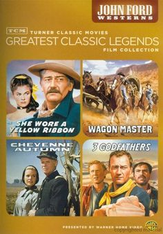 Greatest Classic Films Collection: John Ford Westerns DVD