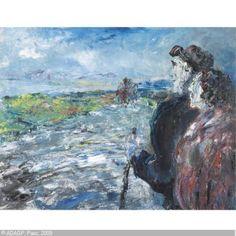 Jack Butler Yeats - Waiting For The Long Car, 1947 by cm) Contemporary Artists, Modern Art, Jack B, Irish Culture, Irish Art, Arabic Art, Pre Raphaelite, Impressionist Art, Portrait Art