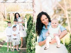 Mother and sons. Preppy family session at River Farm in Alexandria, VA. Featured on Lemonade and Lenses
