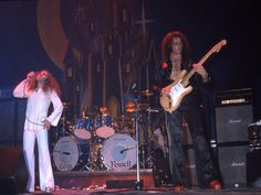 Ritchie Blackmores Rainbow on stage 1975..R.I.P..Ronnie,Jimmy & Cozy..
