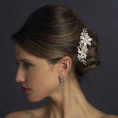 Beautiful Wedding hair comb for the bride!