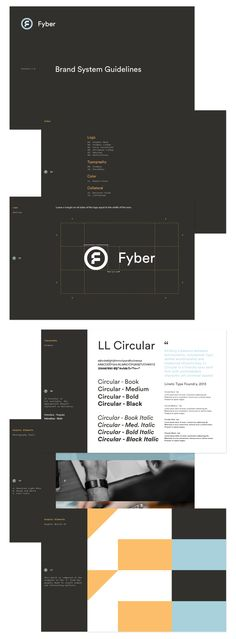 Brand Guide for Fyber by Fuzzco