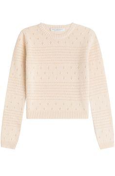 PHILOSOPHY DI LORENZO SERAFINI Knitted Wool Blend Pullover. #philosophydilorenzoserafini #cloth #knitwear