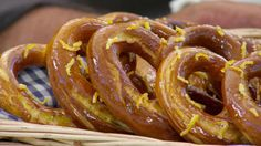 This pretzels recipe appears as the technical challenge in the French Week episode of Season 2 of The Great British Baking Show on PBS Food.