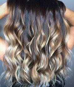 """17 Likes, 3 Comments - ✂️Carrie (Miller) Murtaugh (@theosmomdoeshair) on Instagram: """"Balayage Goals  @smithkiersten #hairbycarriemurtaugh #studio16 #pulpriothair #blondeaf…"""""""