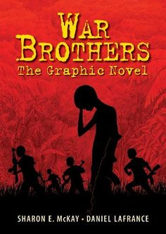 War Brothers: The Graphic Novel by Sharon McKay, http://www.amazon.ca/dp/1554514886/ref=cm_sw_r_pi_dp_v0pnrb036KX4K
