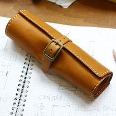 Pencil MXS Wrapペンケース(K-810)の手作り革鞄・ハンドメイドレザー「HERZ(ヘルツ)公式通販」