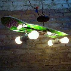 List of top 15 easy DIY Home Decor projects cool skateboard light Skateboard Light, Skateboard Shelves, Boys Skateboard Room, Skateboard Furniture, Skateboard Parts, Car Furniture, Skateboard Wheels, Urban Furniture, Skateboard Decks