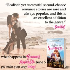 What Happens In Summer Booklist Review