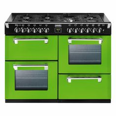 Stoves Richmond Rolling Countryside green 100cm gas range cooker