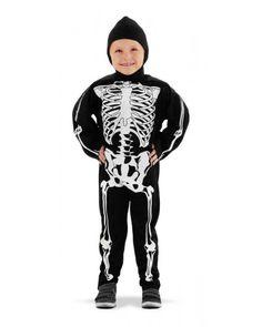 Skelet kostuum voor kinderen.