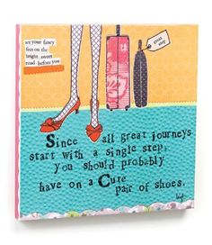 Curly Girl Design Cute Shoes Wall Canvas - NuMercy.com